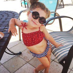 summertime poolside