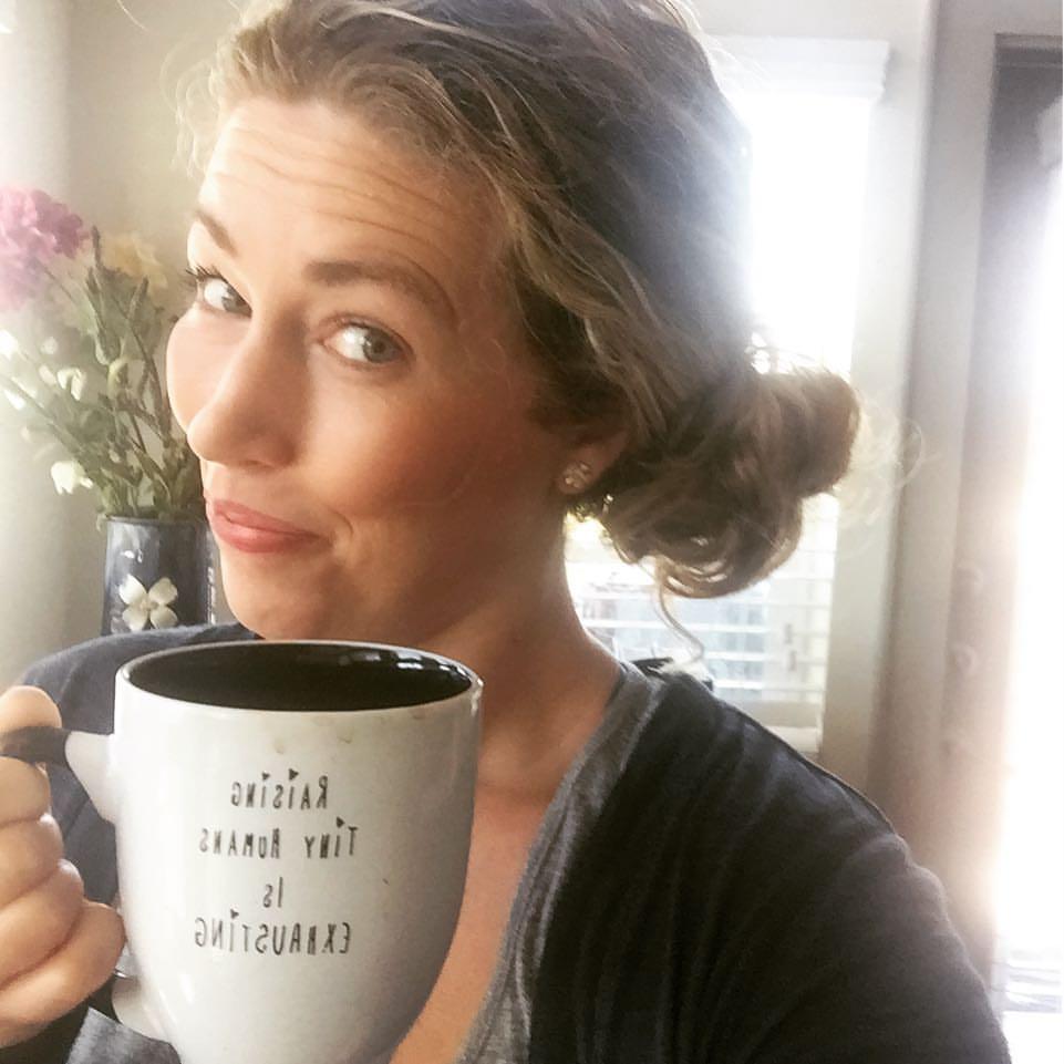 Oliva Destin 30A Mom with coffee