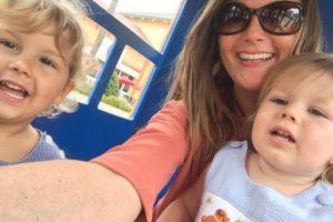 Selfie with family Terri P
