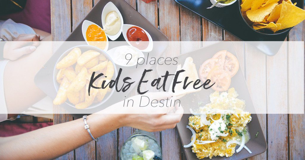 kids eat free in destin