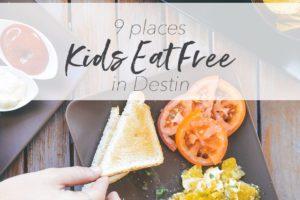Kids Eat Free Destin Pin