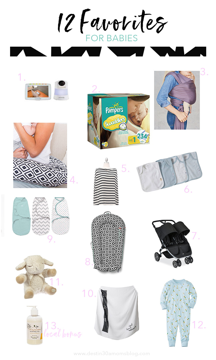 Favorite Baby Items // Destin 30A Moms Blog