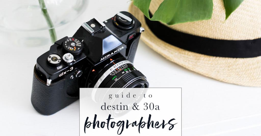 Destin 30a Moms Photography Guide