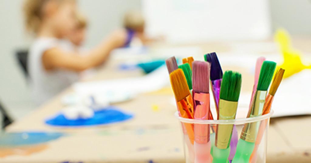 Art Brushes Creative Kids camp