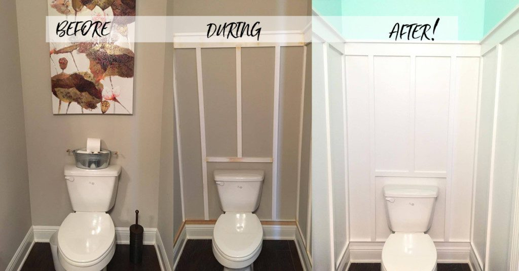 Kristy's Bathroom Before and After