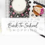 How To Save BIG On Back To School Shopping