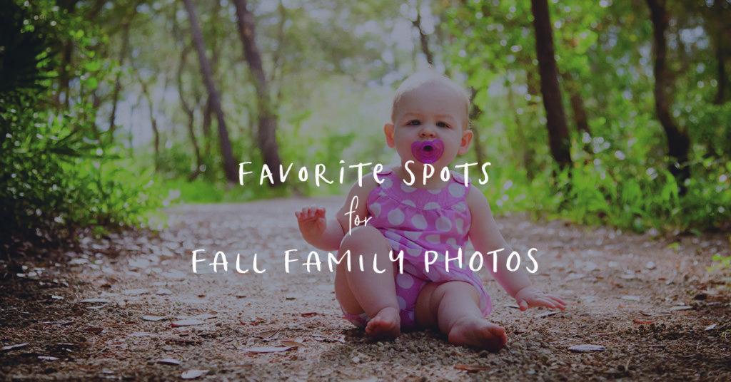 Family Photo Spots