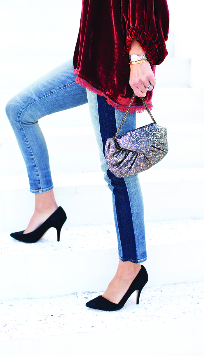 Boho Holiday look With Citizens Denim