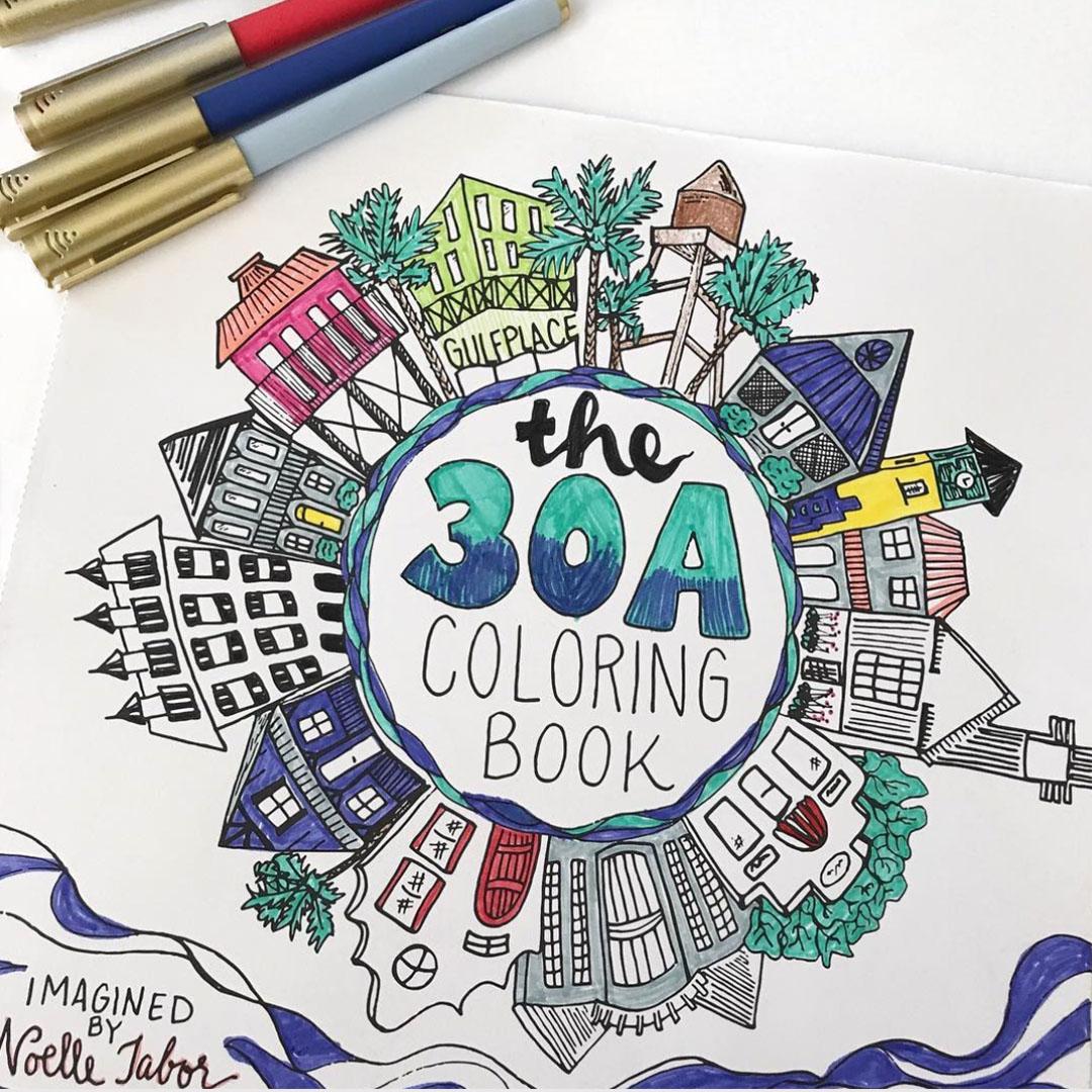30a Coloring Book