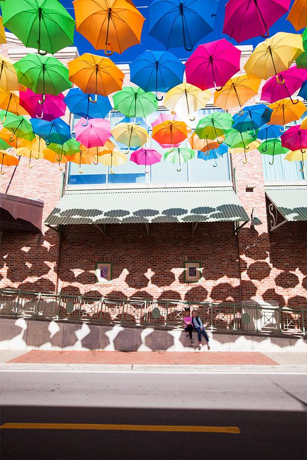 umbrella sky exhibit