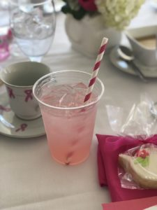 Signature Pink Drink at Tea fore her luncheon