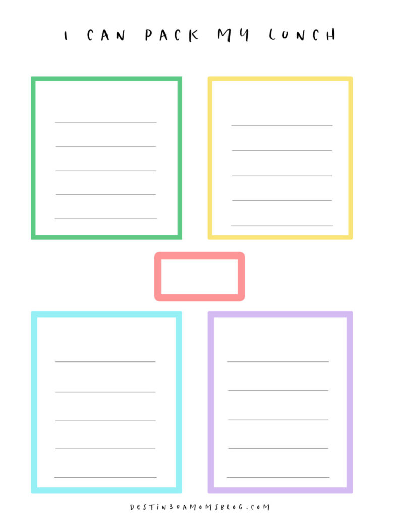 free download lunch planner