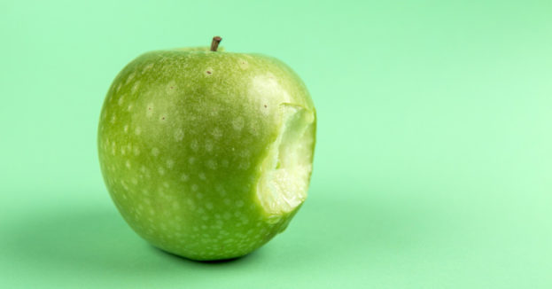apple bitten lunch hacks