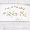 Praise the Lard sign at The Perfect Pig