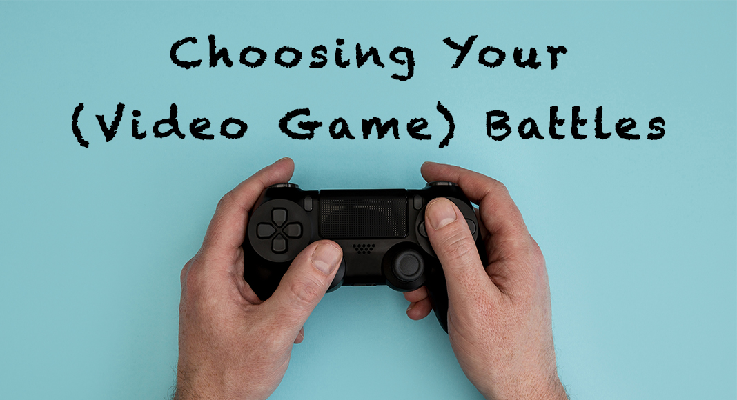 Choosing your video game battles