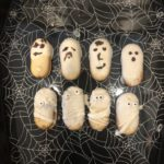 Quick and Easy Halloween Treat-Ghost and Mummy Cookies