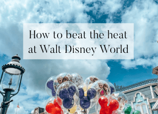 beat the heat disney world