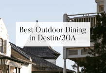 outdoor dining in destin 30a